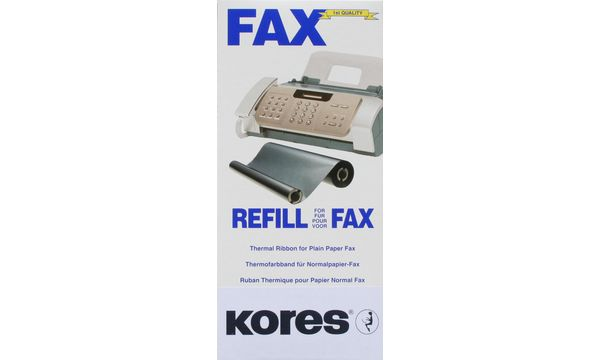 #2xKores Thermotransferrolle für brother Fax T72, 74, sc...