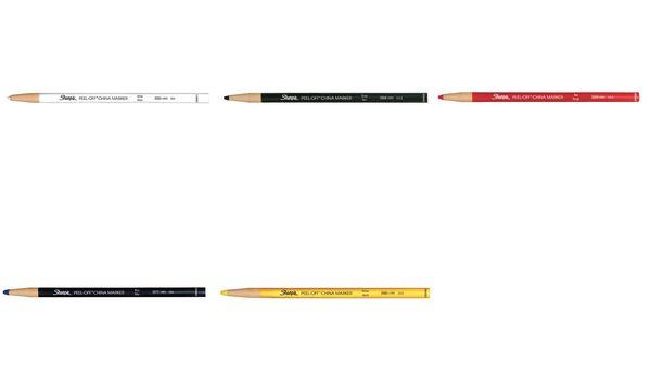 Sharpie CHINA-Marker, Strichstärke: 2,0 mm, weiß