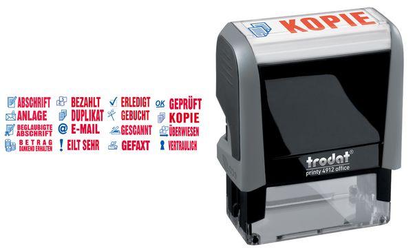 trodat Textstempelautomat Office Printy 4.0 4912 GEBUCHT