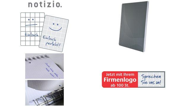 AVERY Zweckform Notizbuch Notizio, DIN A4, kariert, Ka...