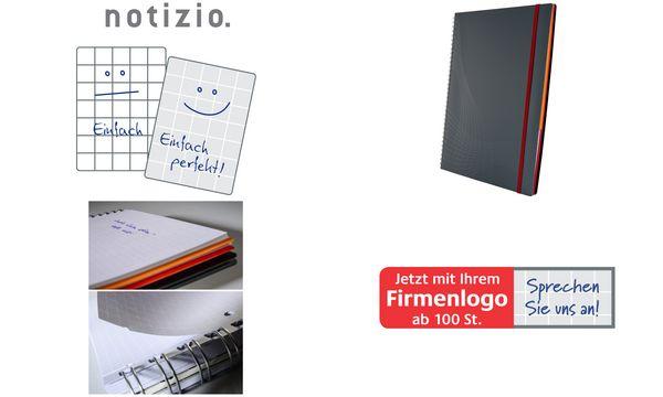 AVERY Zweckform Notizbuch Notizio, DIN A4, kariert, PP
