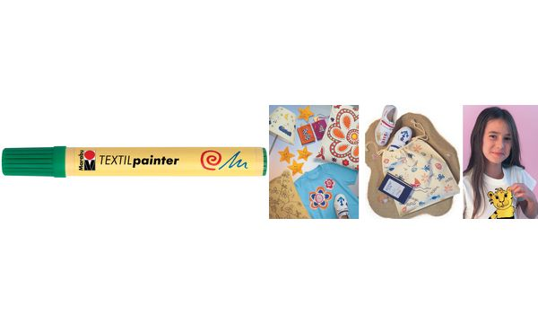Marabu Textilmarker Textil Painter, gelb