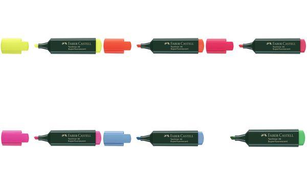 FABER-CASTELL Textmarker TEXTLINER 48 REFILL, rosa