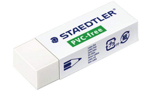 STAEDTLER Radierer B30, PVC-frei, weiß