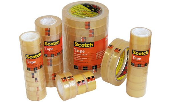 #10xScotch Klebefilm 508, transparent, 15 mm x 10 m