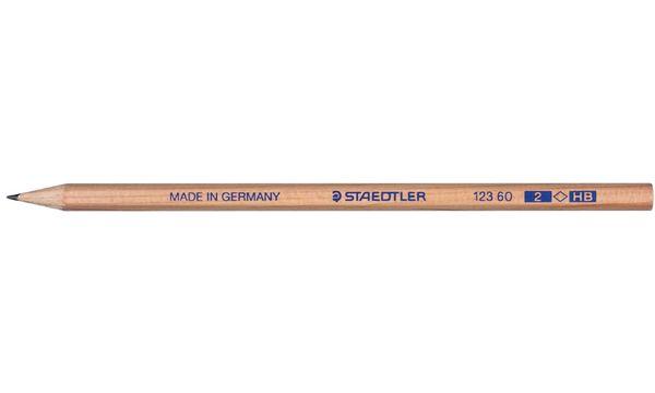 STAEDTLER Bleistift Natur, sechseckig, Härtegrad: HB
