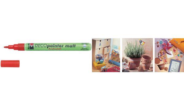 Marabu Acrylmarker Deco Painter matt, gold