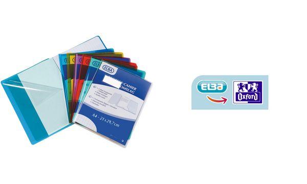 ELBA Heftschoner 170 x 220 mm, PVC, Stärke: 0,22 mm, far...