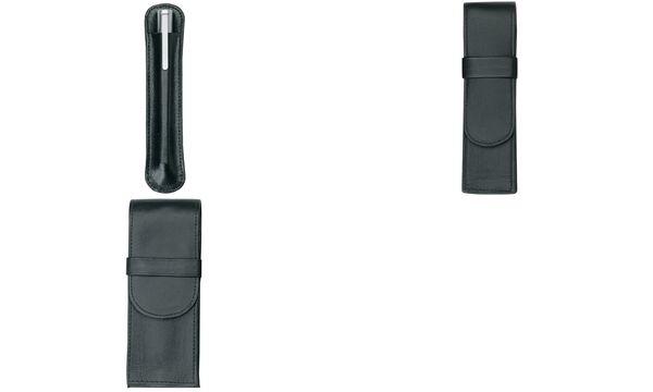 Alassio Schreibgeräte-Etui, für 1 Schreibgerät, schwarz