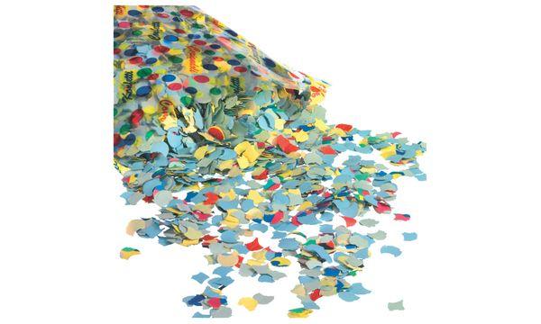 SUSY CARD Konfetti, aus farbigem Papier, Inhalt: 100 g