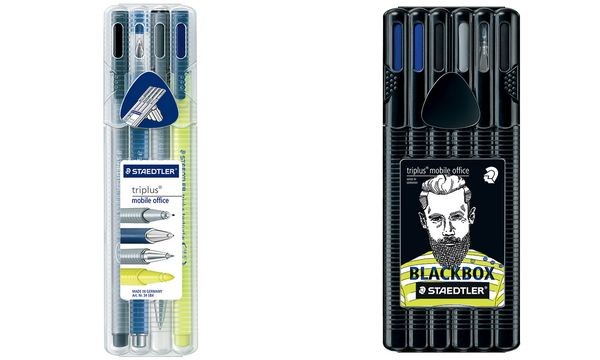 STAEDTLER Schreibset triplus black mobile office