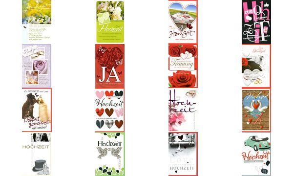 HORN Hochzeitskarte - Hochzeitskutsche - inkl. Umschlag