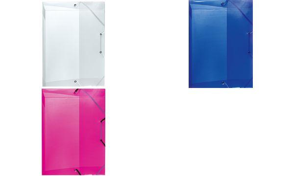 herlitz Heftbox, DIN A5, PP-Folie, farblos transluzent