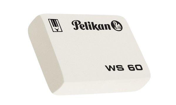 Pelikan Kautschuk-Radierer WS 30, (B)38 x (T)30 x (H)10 mm