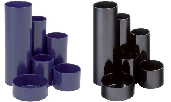 MAUL Multiköcher MAULdeskbox, blau, Kunststoff