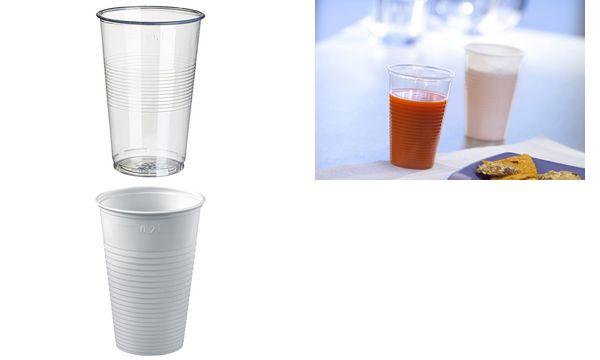STARPAK Kunststoff-Trinkbecher PP, 0,2 l, transparent, 1...