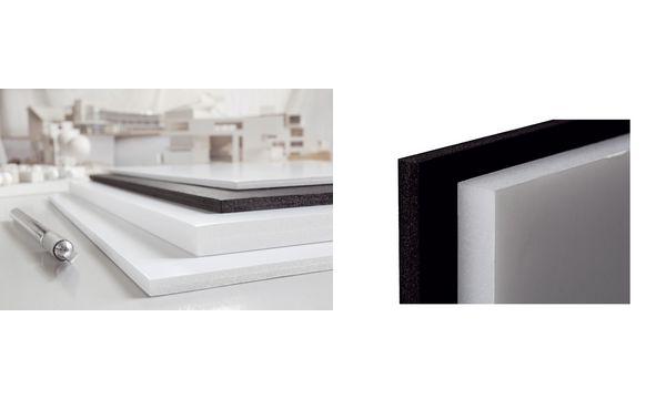 transotype Foam Board, 210 x 297 mm (A4), schwarz, 5 mm