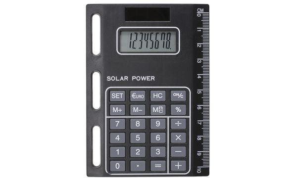 bind-Solarrechner Modell 1020, mit Universallochung, sch...