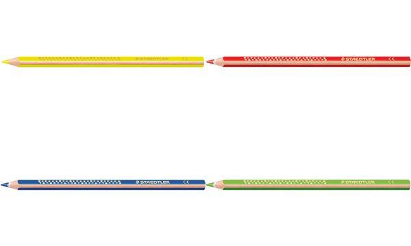 STAEDTLER Dreikant-Buntstift Noris, gelbgrün