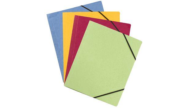 #50xELBA Eckspannermappe Carte Forte, DIN A4, farbig sor...