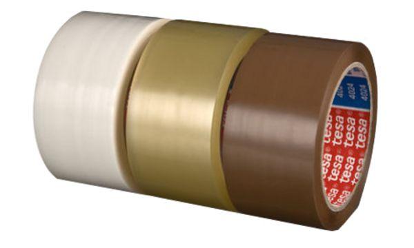 #6xtesapack Verpackungsklebeband 4024, aus PP, 50 mm x 66 m