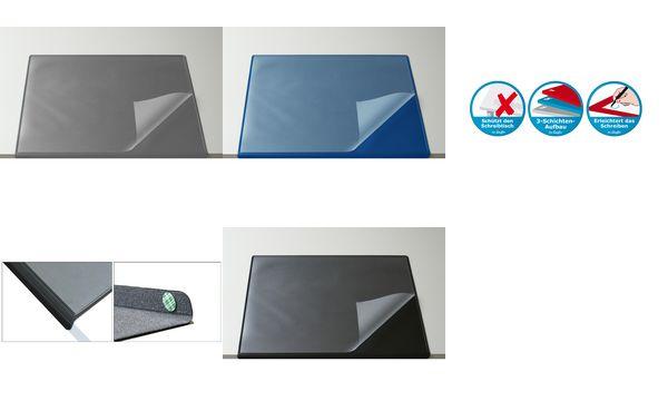 Läufer Schreibunterlage DURELLA Flexoplan DS, blau