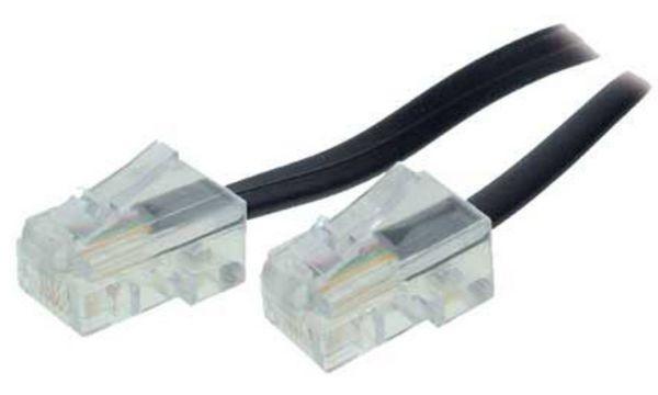 shiverpeaks BASIC-S ISDN-Anschlusskabel, schwarz, 6,0 m