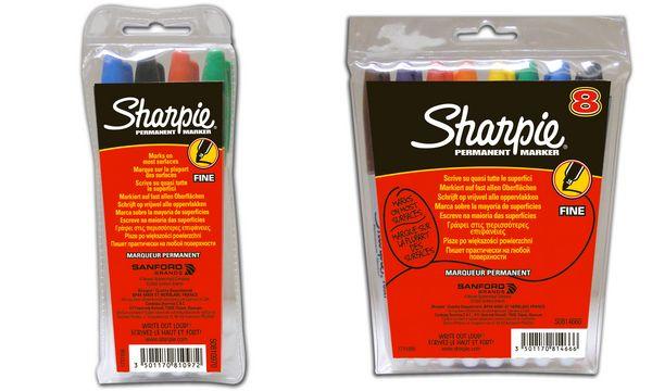 Sharpie Permanent-Marker FINE, 8er Etui