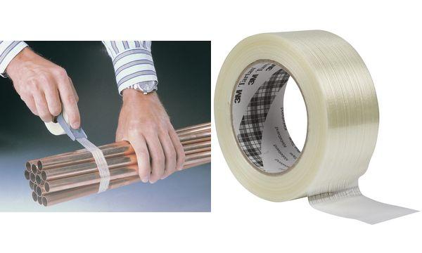 Tartan Filament-Klebeband 8953, 12 mm x 50 m, transparent
