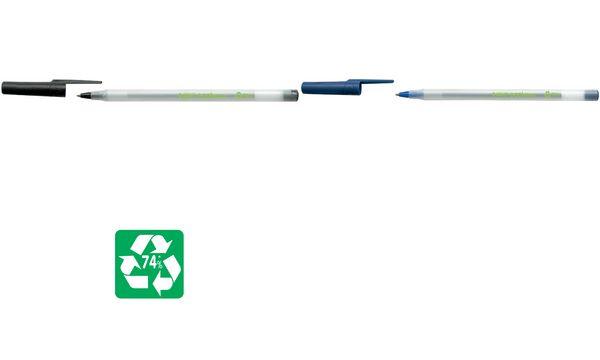 BIC Kugelschreiber ECOlutions Round Stic, blau