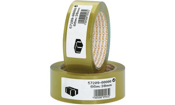 #6xNOPI Verpackungsklebeband aus PVC, 50 mm x 66 m, tran...