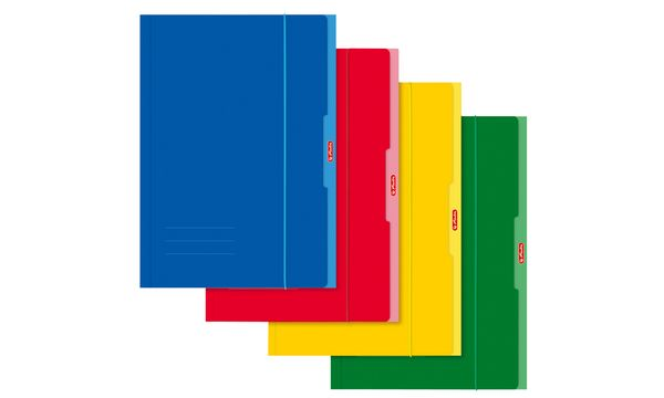 herlitz Zeichnungsmappe, DIN A4, farbig sortiert