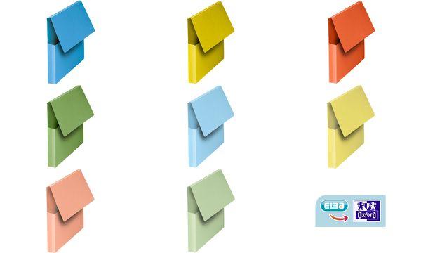 #10xELBA Dokumententasche, DIN A4, Karton, leuchtende Fa...