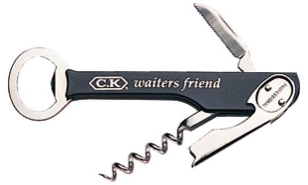 C.K Kellnermesser, mit Korkenzieher und Flaschenöffner