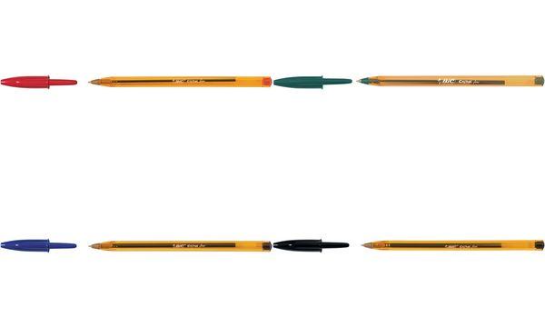 BIC Kugelschreiber Cristal Fine, Strichfarbe: rot