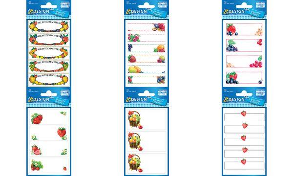 AVERY Zweckform Z-Design Haushaltsetiketten Erdbeere &