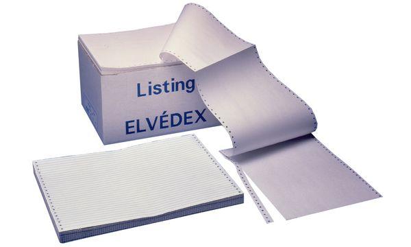 ELVE DIN-Computerpapier endlos, 240 mm x 11 (27,94 cm)