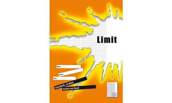 Limit Schulheft, DIN A4, Lineatur 21 / liniert