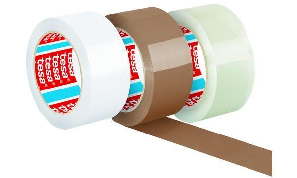 #6xtesapack Verpackungsklebeband 4195, aus PP, 50 mm x 66 m