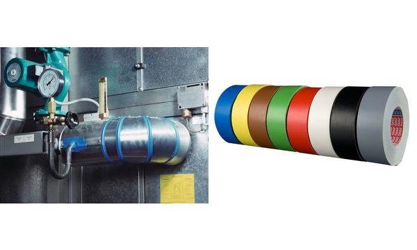tesa Gewebeband 4651 Premium, 50 mm x 50 m, grau