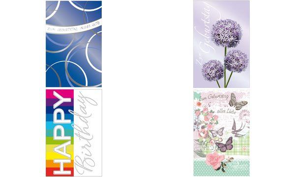 SUSY CARD Geburtstagskarte Allium