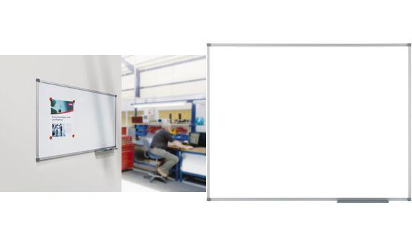 nobo Weißwandtafel Classic Stahl, (B)600 x (H)450 mm