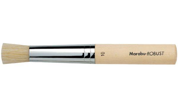 Marabu Stupfpinsel Robust, rund, Gr. 6