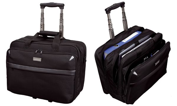 LiGHTPAK Business Notebook-Trolley XRAY, Nylon, schwarz