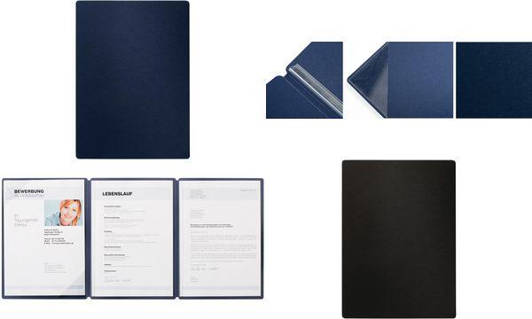 PAGNA Präsentation-/ Bewerbungsmappe Straight, blau