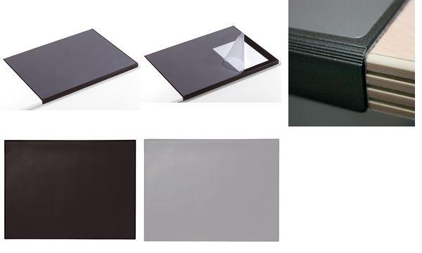 DURABLE Schreibunterlage mit Kantenschutz, grau