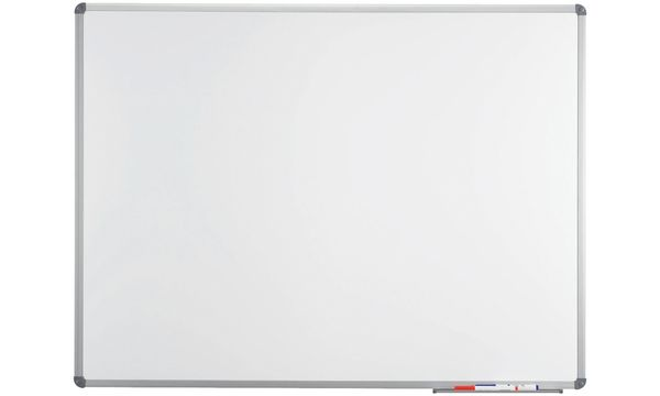 MAUL Weißwandtafel Standard, Emaille, (B)450 x (H)300, grau
