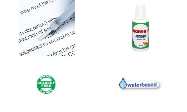 Kores Korrekturflüssigkeit AQUA, 20 ml