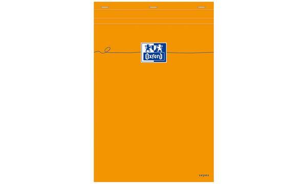 Oxford Notizblock, DIN A4, Seyès, 80 Blatt, orange