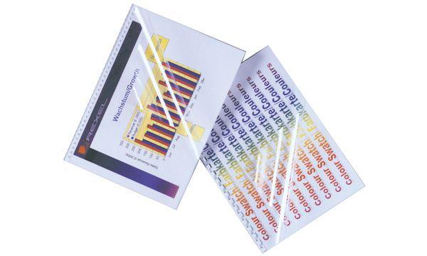 GBC Einbanddeckel HiClear, DIN A3, PVC, 0,30 mm, glasklar